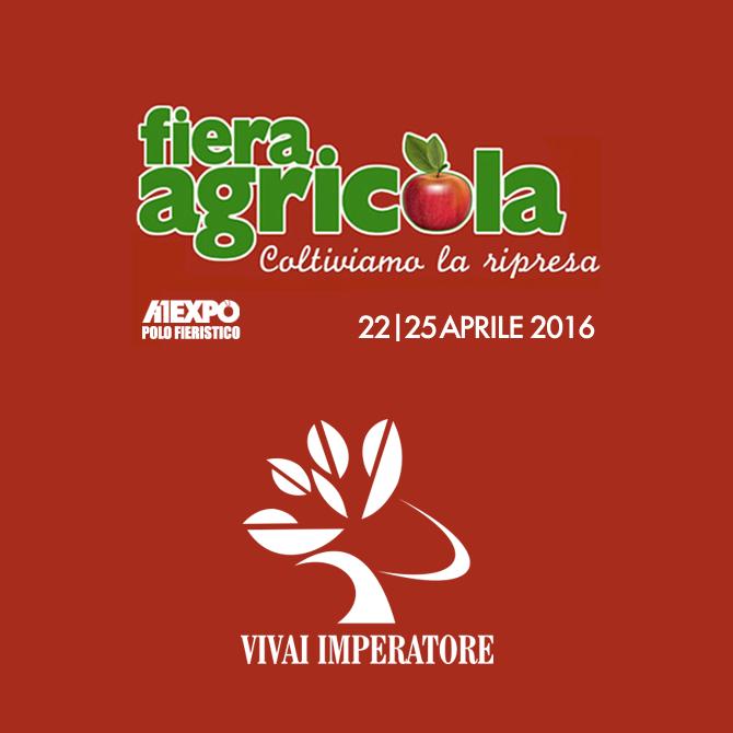 Vivai Imperatore partecipa alla Fiera Agricola 2016